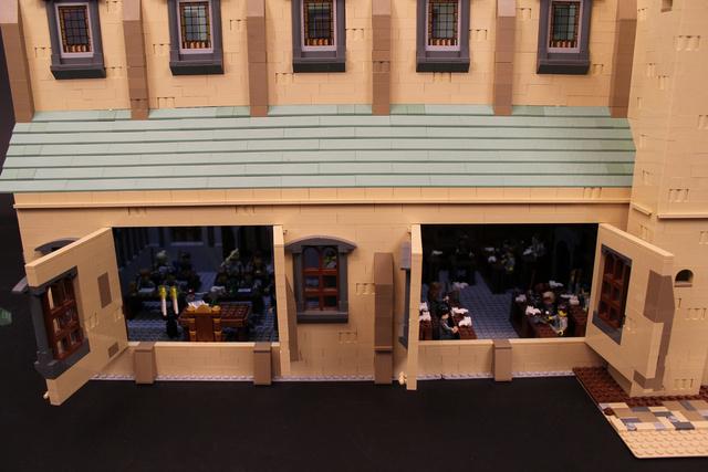 レゴで出来たハリーポッターのホグワーツ城6