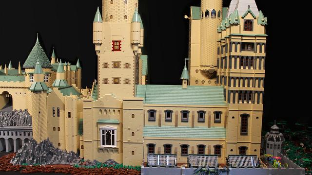 レゴで出来たハリーポッターのホグワーツ城7