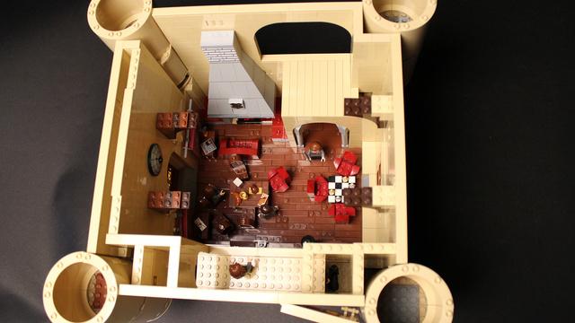 レゴで出来たハリーポッターのホグワーツ城23