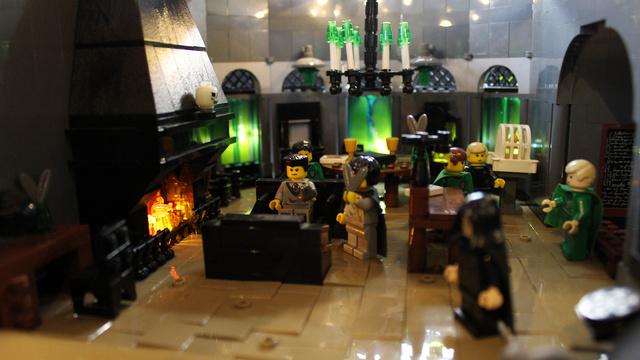 レゴで出来たハリーポッターのホグワーツ城20