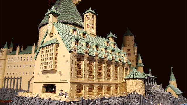 レゴで出来たハリーポッターのホグワーツ城9