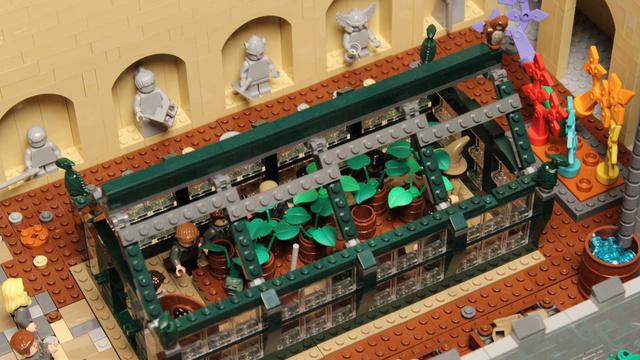 レゴで出来たハリーポッターのホグワーツ城14