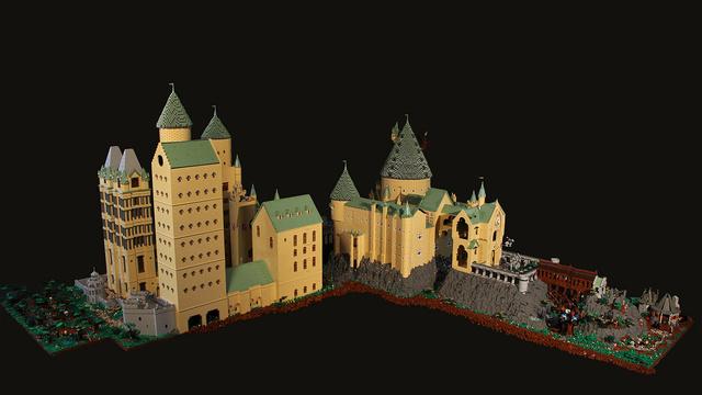 レゴで出来たハリーポッターのホグワーツ城10