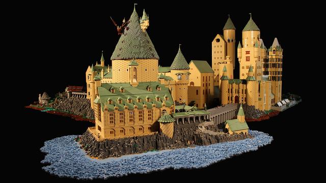 レゴで出来たハリーポッターのホグワーツ城12