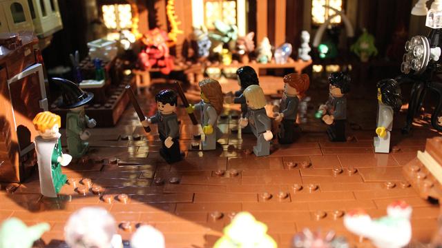 レゴで出来たハリーポッターのホグワーツ城13