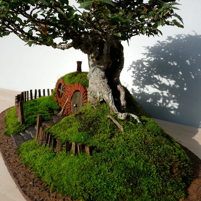ロードオブザリングの盆栽3