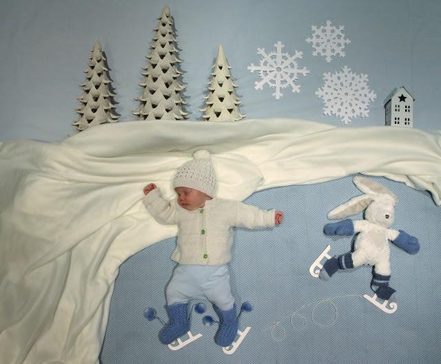 赤ちゃんの寝相(ねぞう)アート4