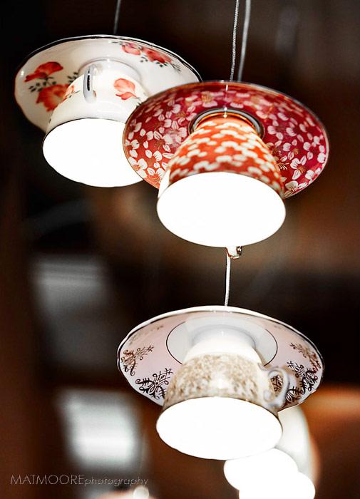 おしゃれなティーカップで出来た照明「Electric Mavis luminare」3