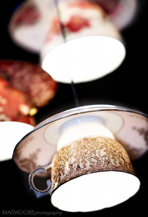 おしゃれなティーカップで出来た照明「Electric Mavis luminare」4
