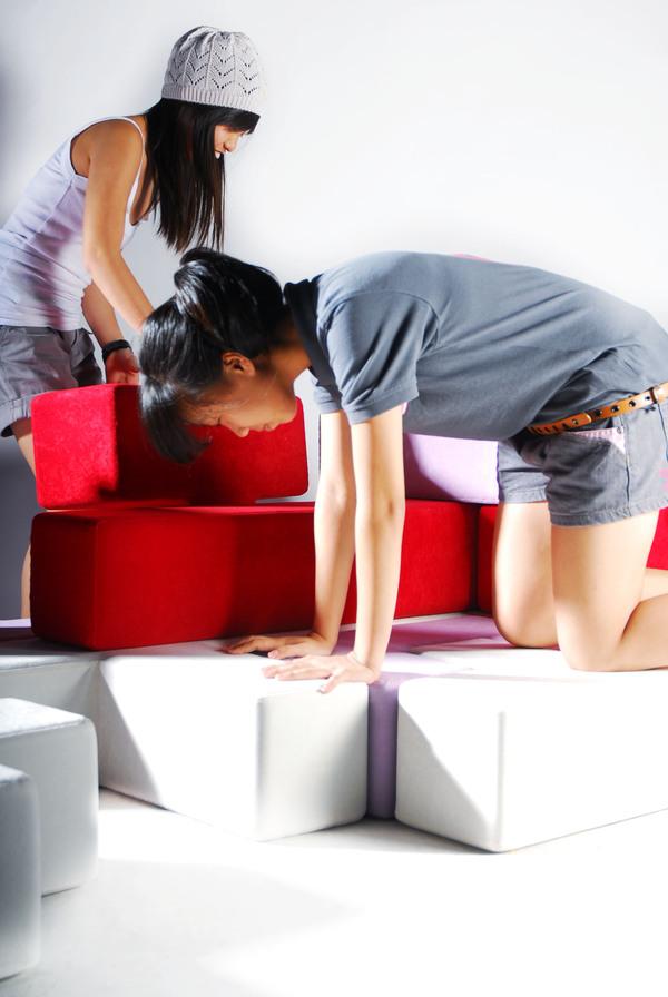 テトリスのように自由自在に組み立てることの出来る家具5