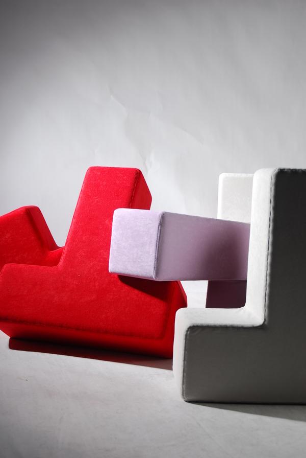 テトリスのように自由自在に組み立てることの出来る家具3