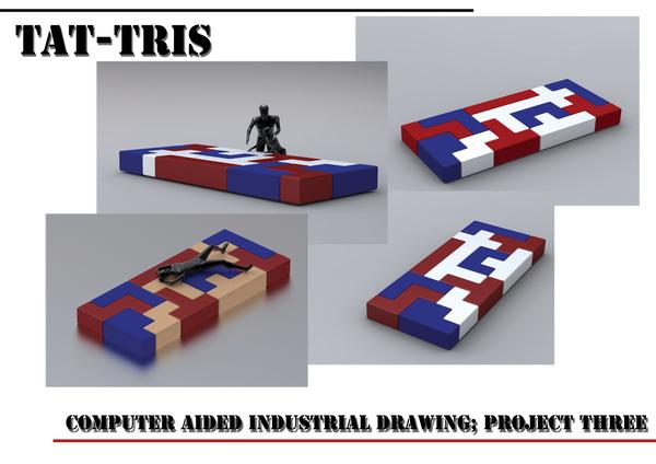 テトリスのように自由自在に組み立てることの出来る家具10