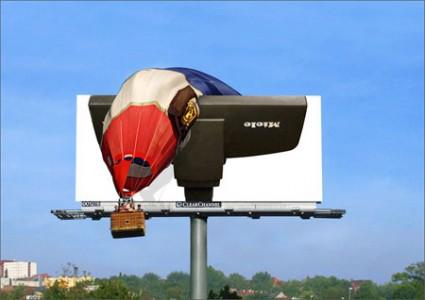 おもわず立ち止まってしまうクリエイティブな広告5