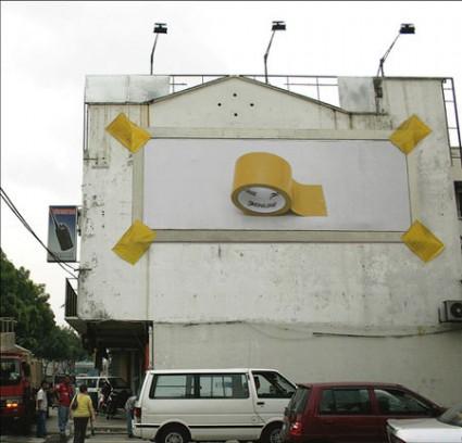 おもわず立ち止まってしまうクリエイティブな広告4