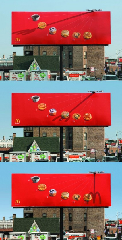 おもわず立ち止まってしまうクリエイティブな広告9