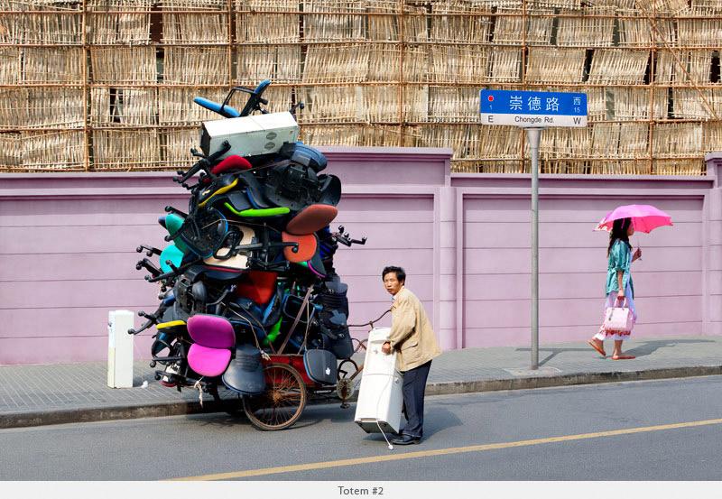 2009年から2010年に撮られた中国上海の出稼ぎ労働者の目を見張るほど素晴らしい光景。13
