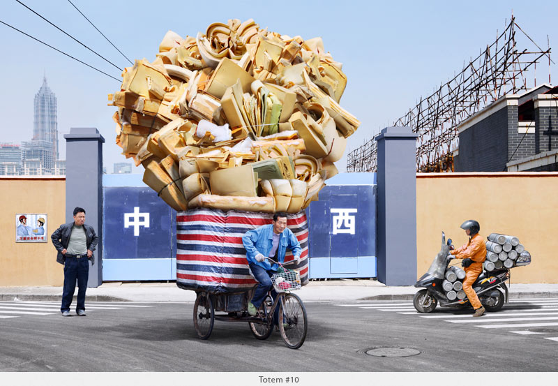 2009年から2010年に撮られた中国上海の出稼ぎ労働者の目を見張るほど素晴らしい光景。16