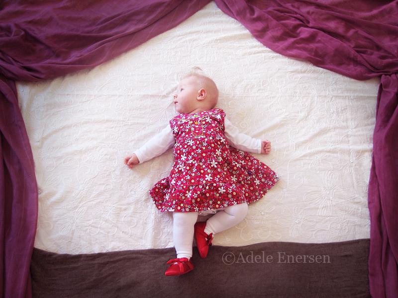 赤ちゃんの寝相(ねぞう)アート13