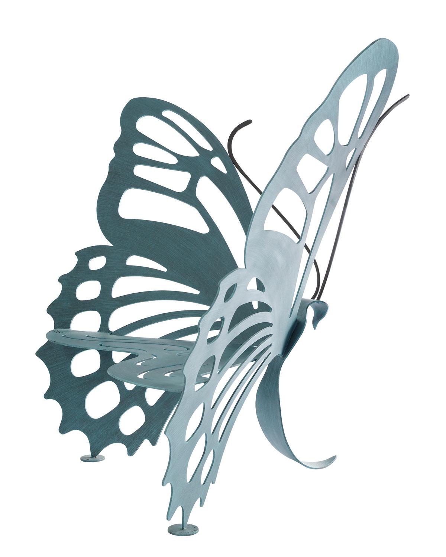 蝶のベンチ2