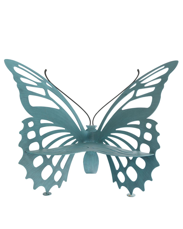 蝶のベンチ3