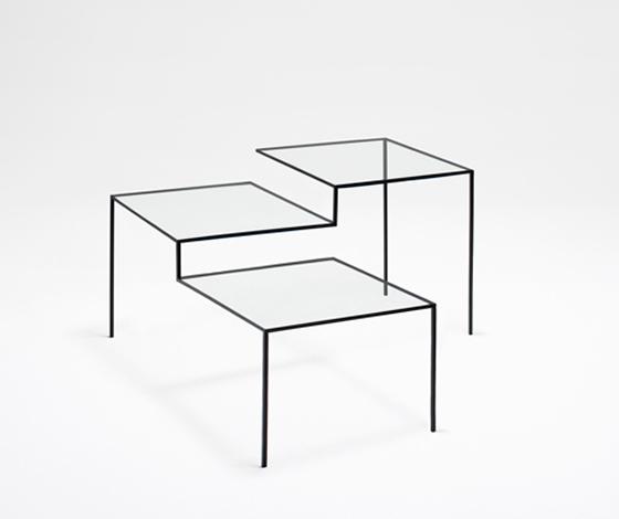 線で出来た家具 by nendo