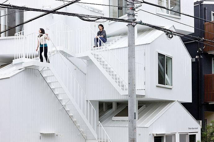 Tokyo-Apt-Fujimoto-藤本壮介の手がけた東京アパートメント3