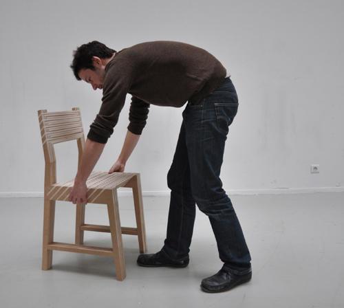 1つが3つに分身する椅子5