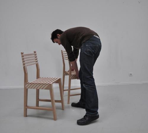 1つが3つに分身する椅子3