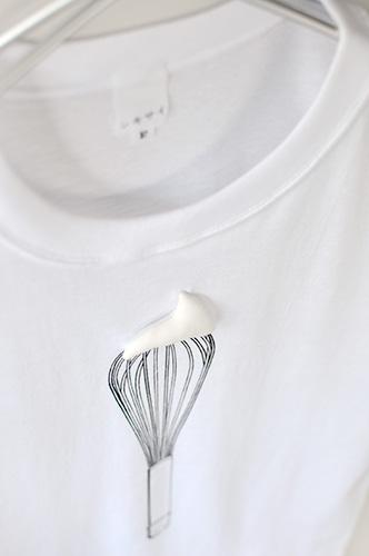 Tシャツブランド「シキサイ」の遊び心満載のTシャツ その3「泡立器」3