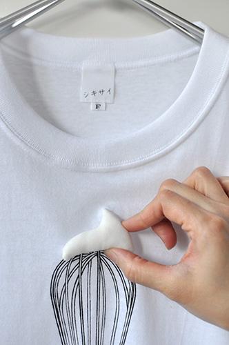 Tシャツブランド「シキサイ」の遊び心満載のTシャツ その3「泡立器」4
