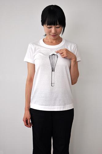 Tシャツブランド「シキサイ」の遊び心満載のTシャツ その3「泡立器」6