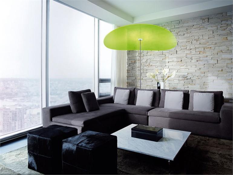 傘のようにあたりを優しく包み込むLED照明 Smoon Ombrella3
