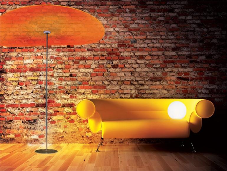 傘のようにあたりを優しく包み込むLED照明 Smoon Ombrella2