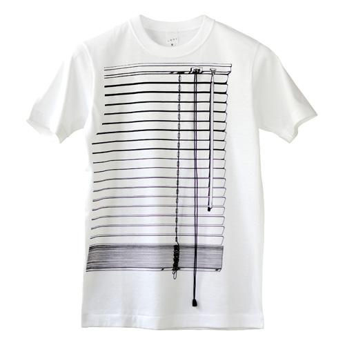 Tシャツブランド「シキサイ」の遊び心満載のTシャツ「ブラインド」