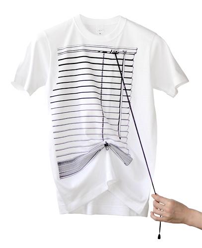 Tシャツブランド「シキサイ」の遊び心満載のTシャツ「ブラインド」3