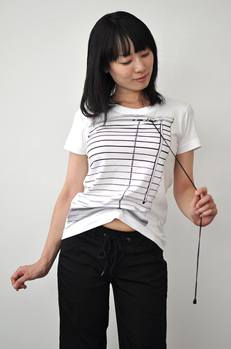 Tシャツブランド「シキサイ」の遊び心満載のTシャツ「ブラインド」8
