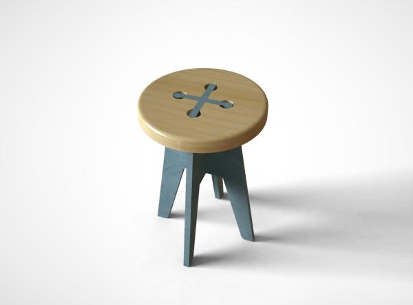 ボタンの形をしたスツール2