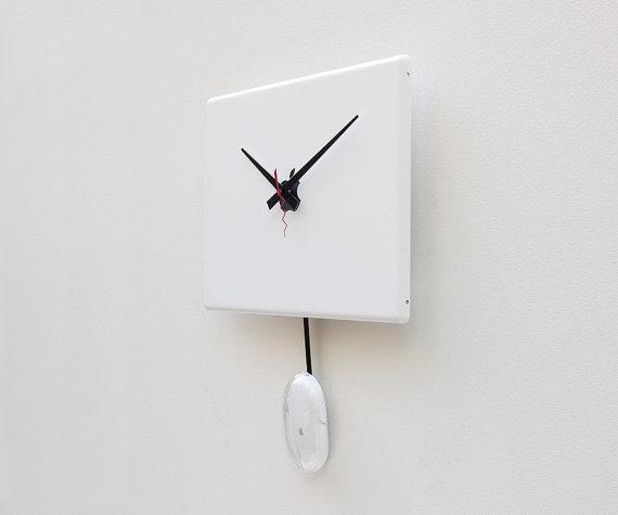 リサイクル品でつくった時計14