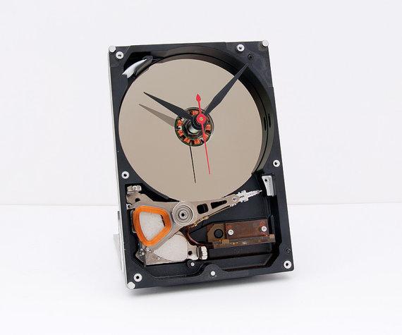 リサイクル品でつくった時計8
