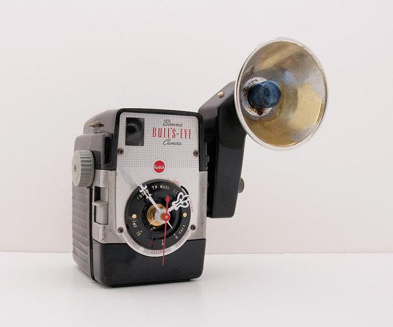 リサイクル品でつくった時計3