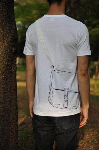 Tシャツブランド「シキサイ」の遊び心満載のTシャツ その3「カバン」6