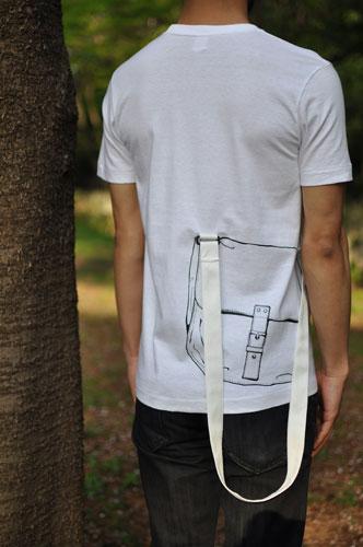 Tシャツブランド「シキサイ」の遊び心満載のTシャツ その3「カバン」7
