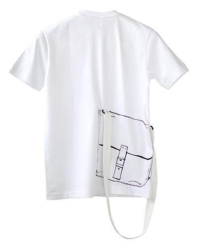 Tシャツブランド「シキサイ」の遊び心満載のTシャツ その3「カバン」2