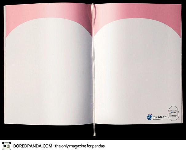 【世界の広告】雑誌の見開きを見事に利用したクリエイティブな広告31