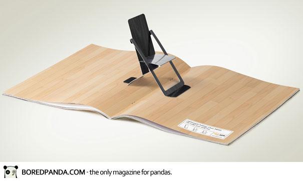 【世界の広告】雑誌の見開きを見事に利用したクリエイティブな広告29