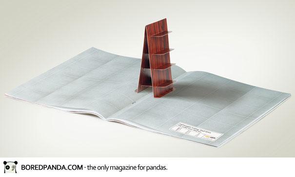 【世界の広告】雑誌の見開きを見事に利用したクリエイティブな広告30