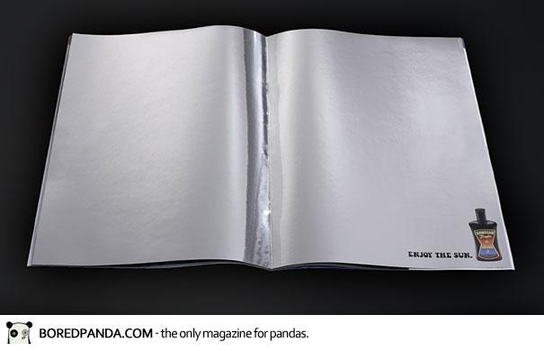 【世界の広告】雑誌の見開きを見事に利用したクリエイティブな広告17