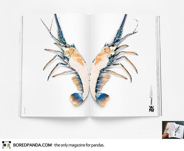 【世界の広告】雑誌の見開きを見事に利用したクリエイティブな広告26