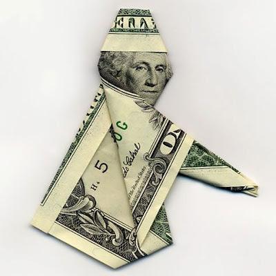 お札でつくった折り紙アート その2 4