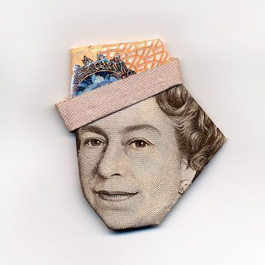 お札でつくった折り紙アート その2 15